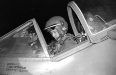 1973_jm_Cpt Bill Stegeman USAF Prepares For a Night Sortie Wildenrath
