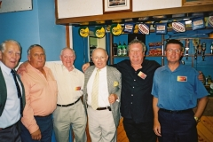 2002_cottesmore_reunion_90th_2002_pm_Al Pollock Bert Loveday Jim Marshall Pat King Geoff Hulley Pete Mears